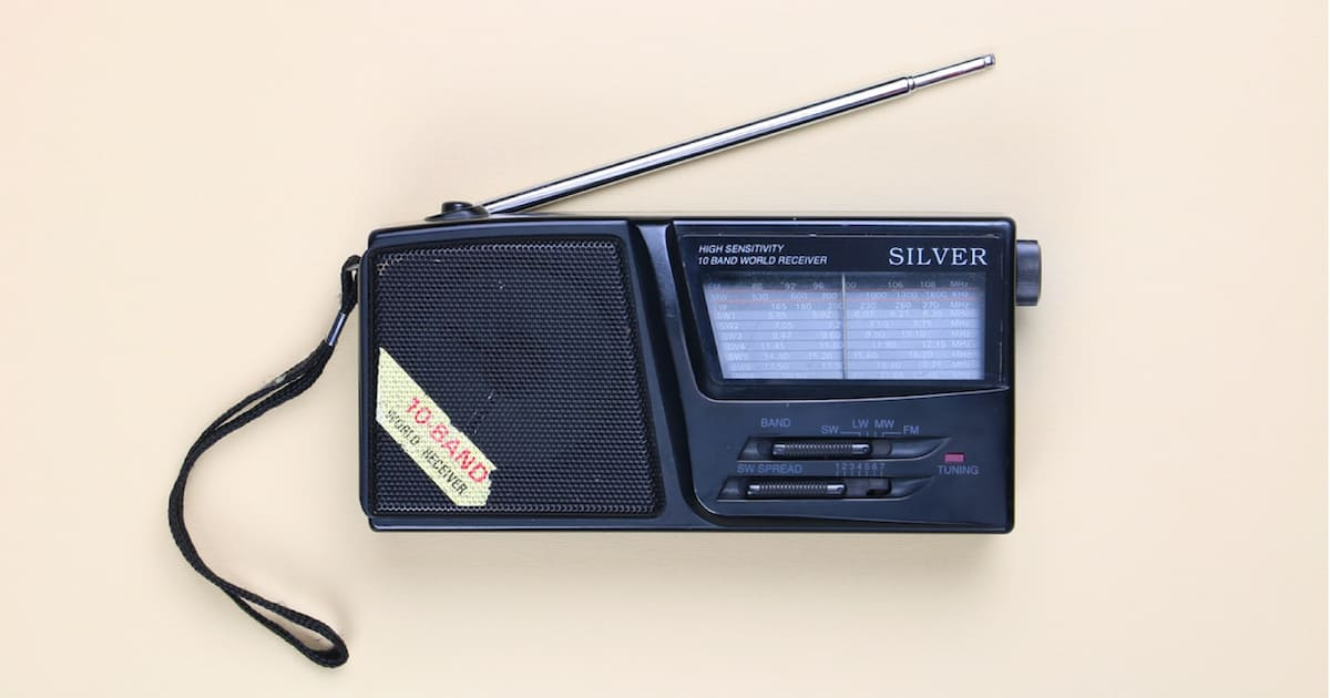 音声だけの、ラジオ配信も可能