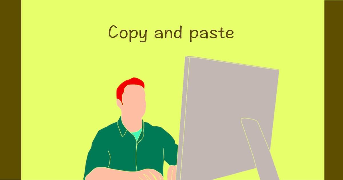 パソコンからの場合は表示されたURLをコピペすればOK
